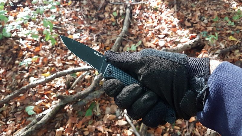 Designed from parameters given by former elite special forces members, the TX399 Knife is one of the founding members of the Spec-Ops collection. Utilizing our Double Lock technology, any operator can work with confidence knowing that the added safety prevents the knife from accidentally closing. It easily opens with one hand using a reversible thumb stud and you can adjust the 2 position pocket clip to adapt to your own carrying style.