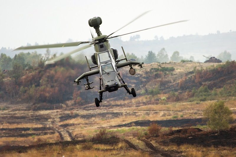 Airbus Helicopters' TIGER has seen active service in Afghanistan and Mali. Seen here during a German exercise in Munster/Bergen. (Photo: Bundeswehr/Marco Dorow)