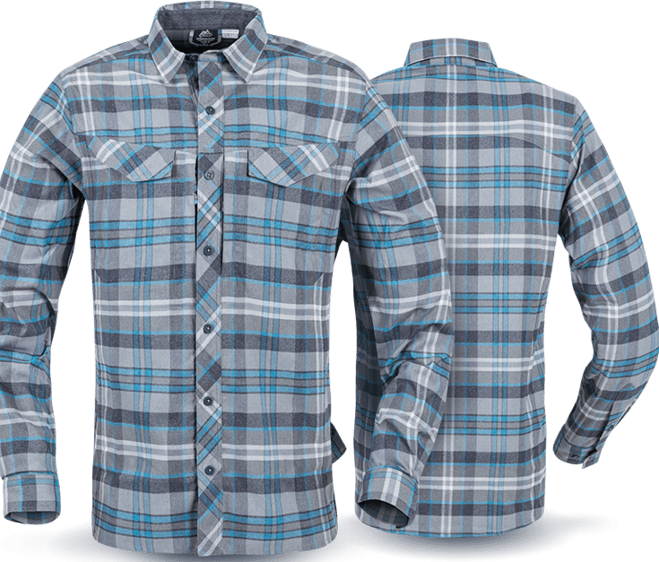 Helikon-Tex' new DEFENDER Mk2 Pilgrim Shirt s made of durable fabric with DuPont Sorona®. This type of fabric provides not only the great odor control, but also, thanks to UPF50, it gives you a proper UV protection.