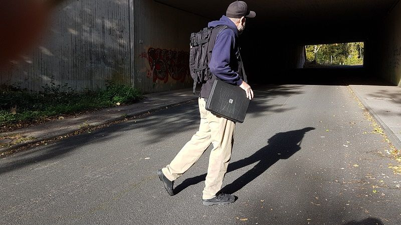 The Helikon-Tex Covert Tactical Pants (CTP) are part of the Urban Line group of products offered by the company, headquartered in Poland. CTP are a wolf in sheep's clothing, i.e., designed to make you look like the average Joe, but with a hefty punch. Paired with a nice blazer one would even be welcome at the golf club, nevertheless a desert military base.