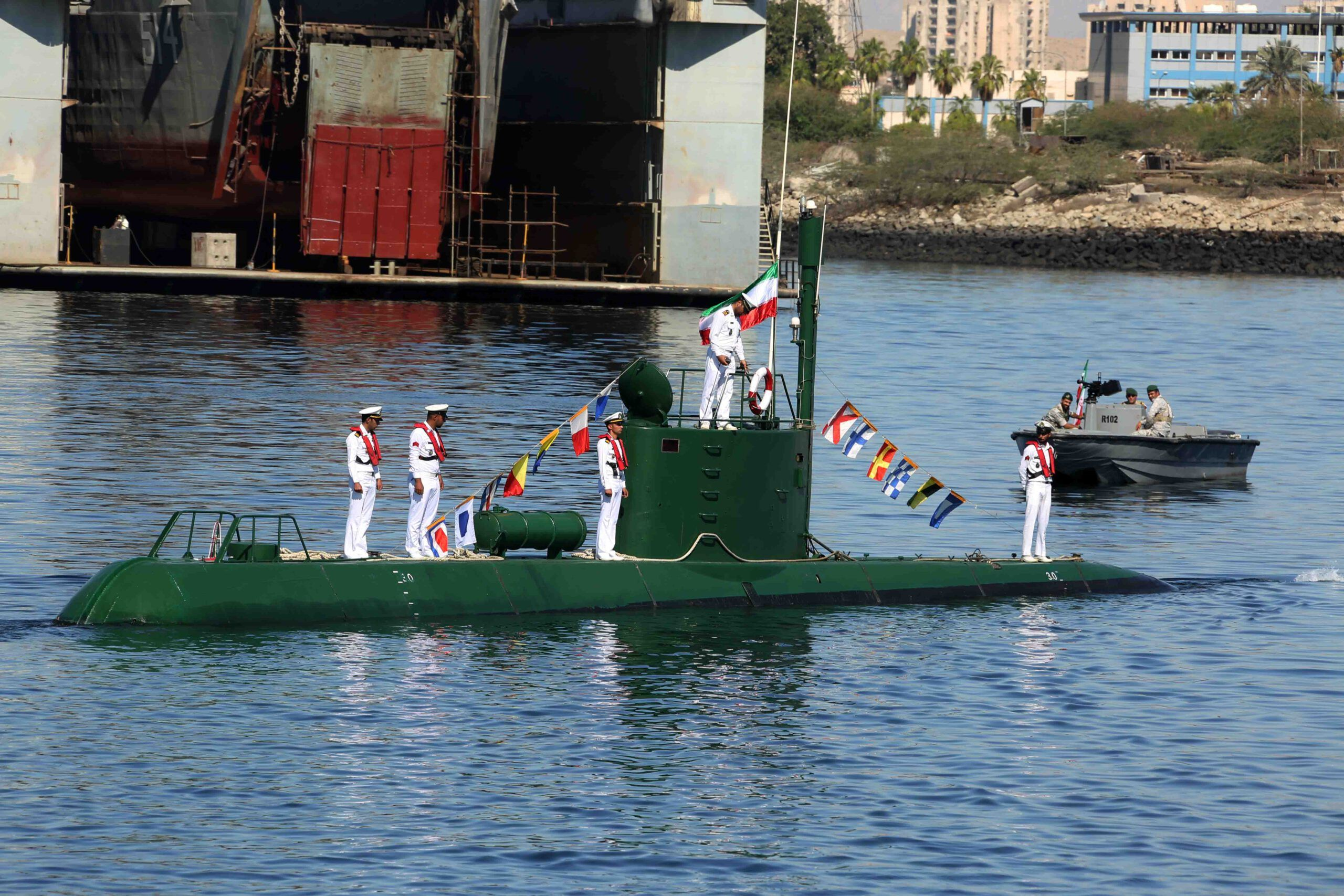 It is not clear whether Iran meant that two new units were delivered or just two submarines already in service were transferred from other locations. Last year it was announced that a 527t FATEH-class submarine would join the fleet soon, and due to delays with the FATEH-class, this project has been temporarily decelerated.