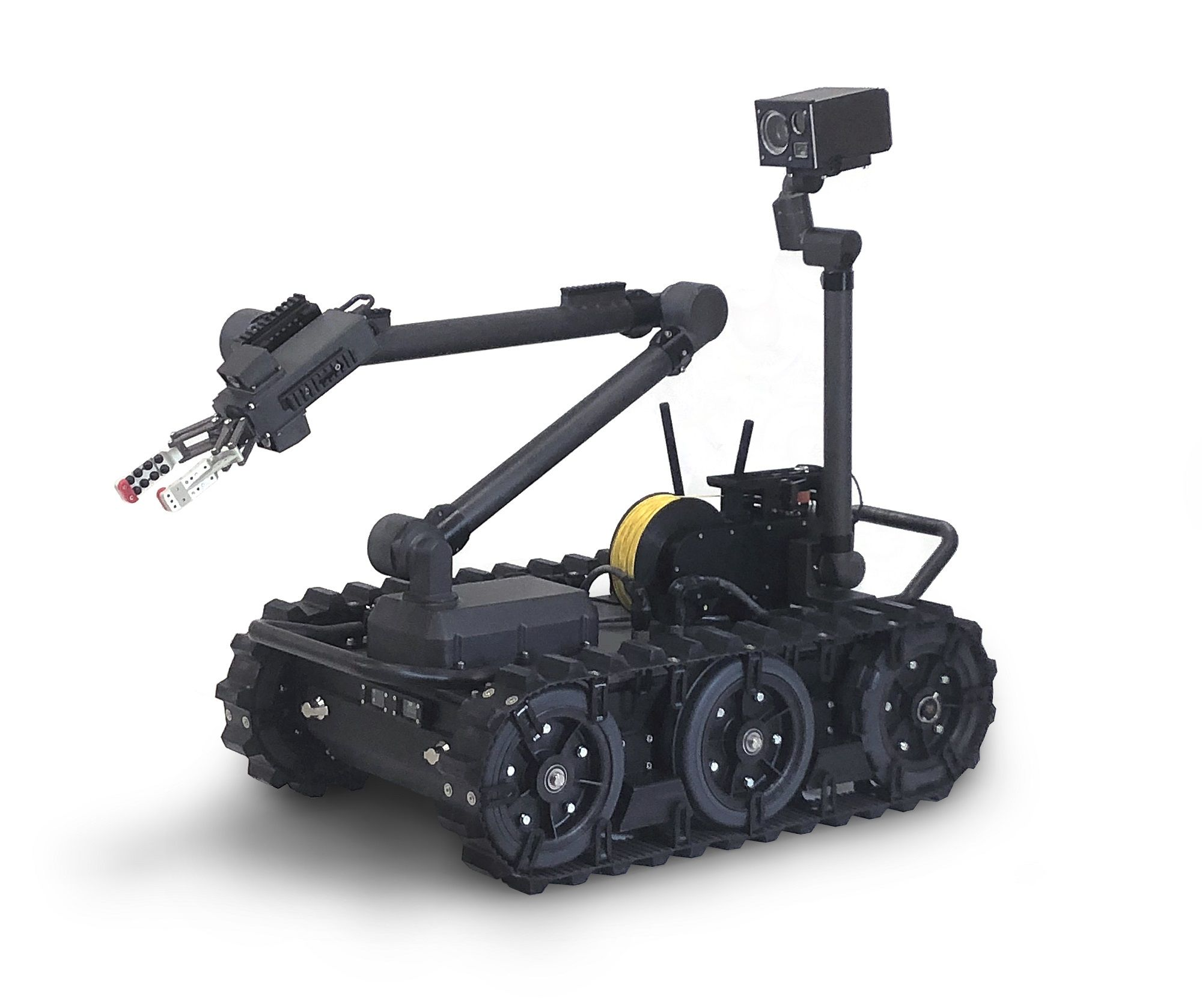 """Endeavor Robotics, nw FLIR Systems) was awarded a contract in September 2017 for the Man Transportable Robotic System Increment II (MTRS Inc II) Programme, with the UGV being, """"a 164-lbs [74kg] robot capable of doing EOD operations, CBRN defence missions and it will have applications for route clearance and for engineers."""" (Photo: US Army/FLIR)"""