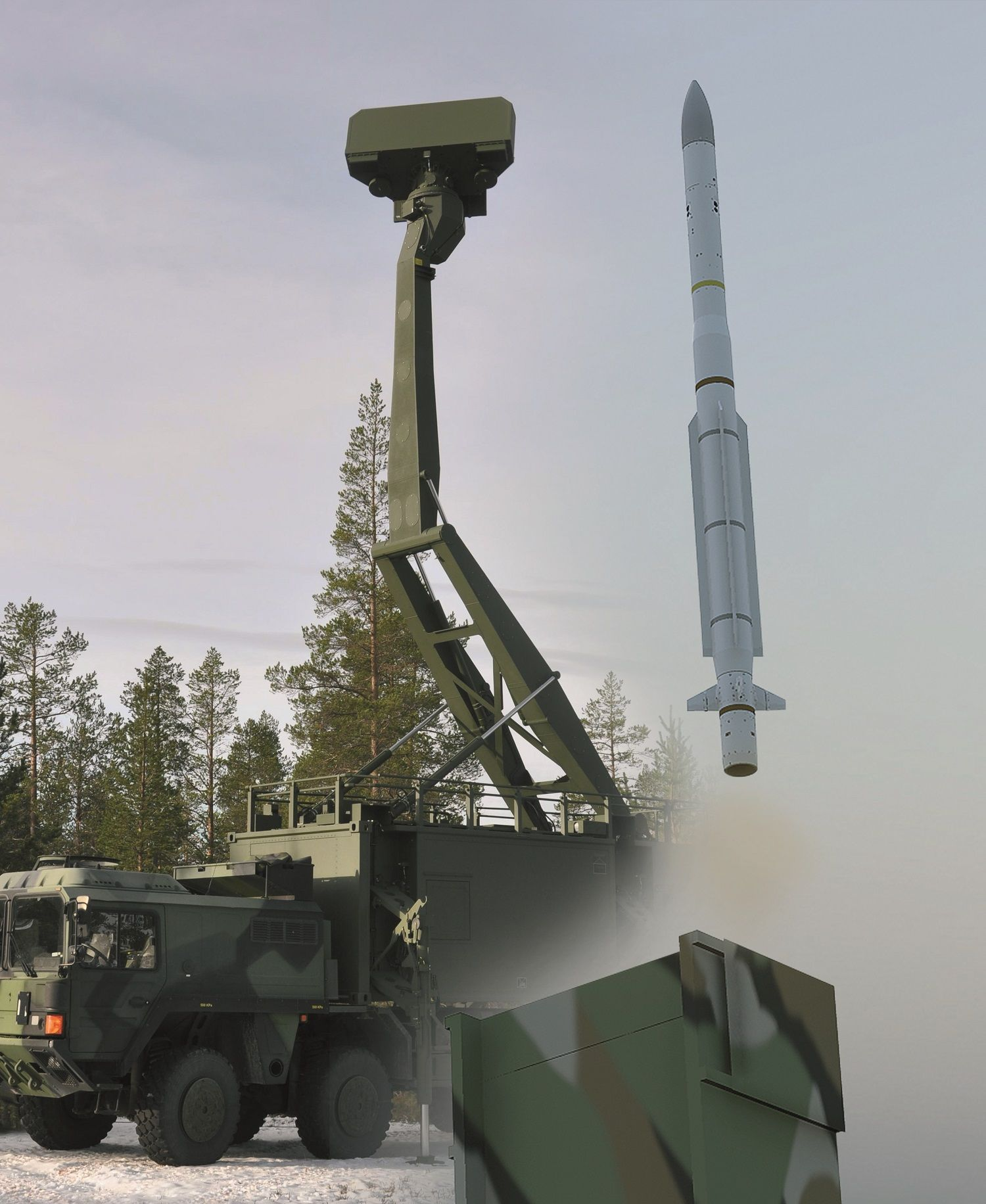 CAMM-ER has an active RF seeker that provides true all-weather performance with excellent clutter rejection capabilities. There is no need for dedicated complex and high-cost fire control/illumination radars. (Image: MBDA)