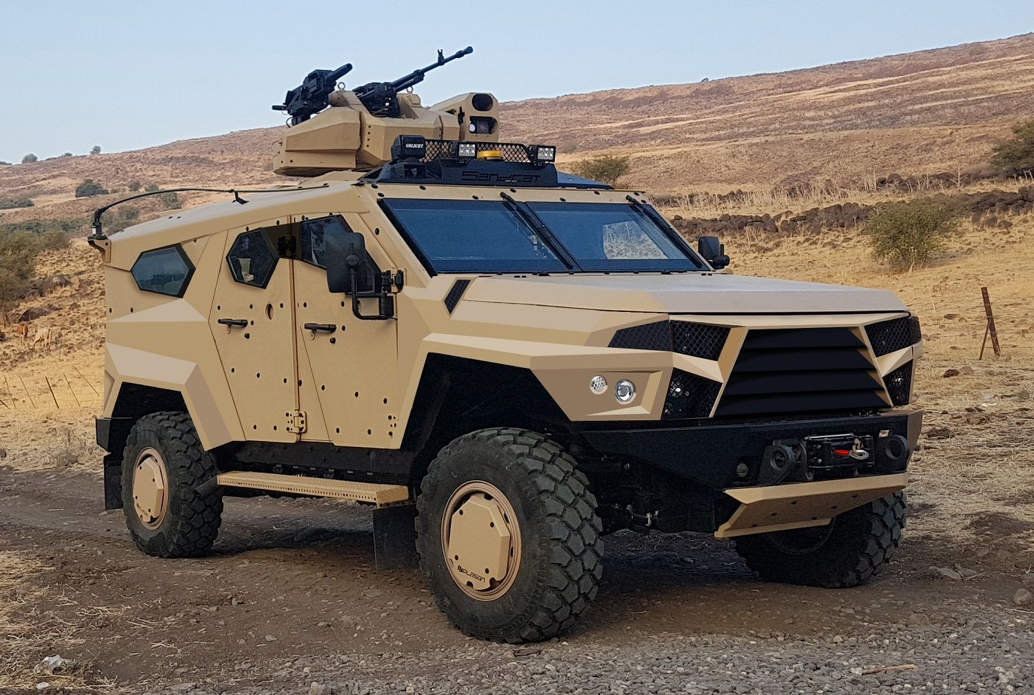 The new StormRider is built around the same rugged Ford components as the SandCat family. (Photo: Plasan)