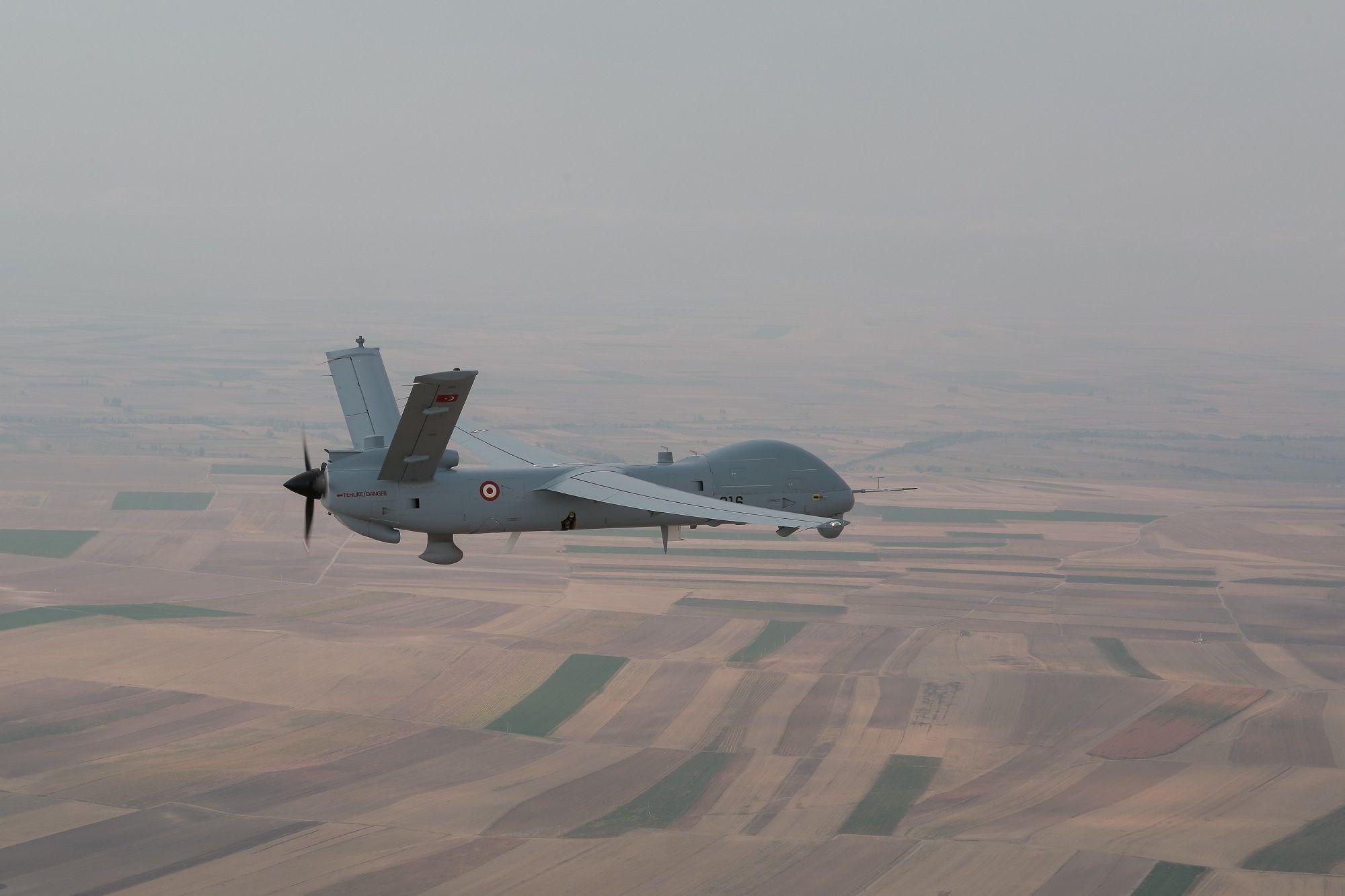 ANKA UAV Turkish Aerospace TAI