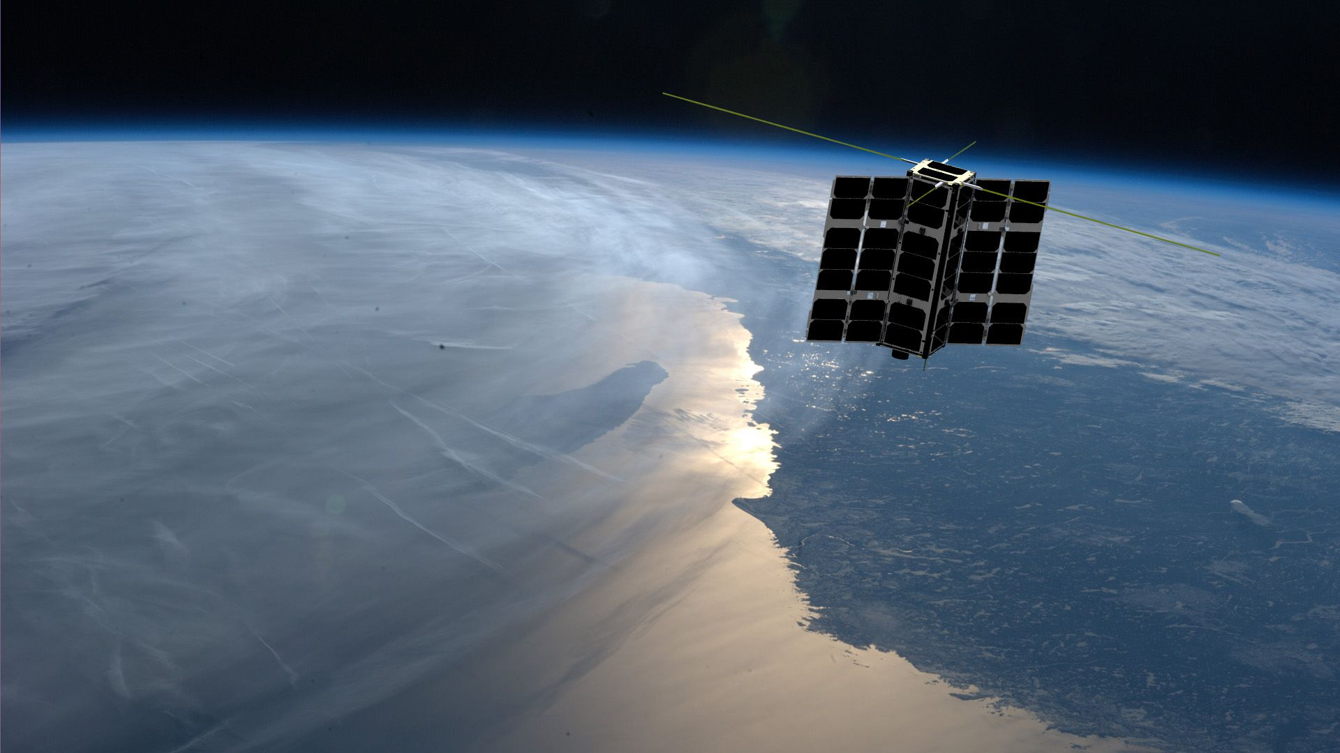 Hawkeye360 expects to add to its constellation of three satellites by the end of this year. This will widen the geographical and frequency coverage offered by the firm. (Photo: HawkEye360)