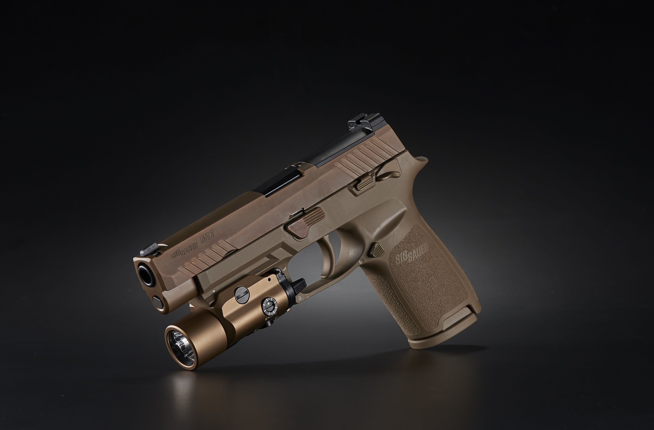 The TLR-VIR II enables users to easily toggle easily between bright light and the IR illuminator/laser. This feature allows military and law enforcement personnel to remain in a proper firing position when making the transition from IR mode to white light, and vice versa. The light features a three-position mode rear selector switch, including IR illumination/IR laser, Safe Off (to prevent accidental turn-on), and visible illumination, that enables users to keep hands away from the muzzle during mode selection.