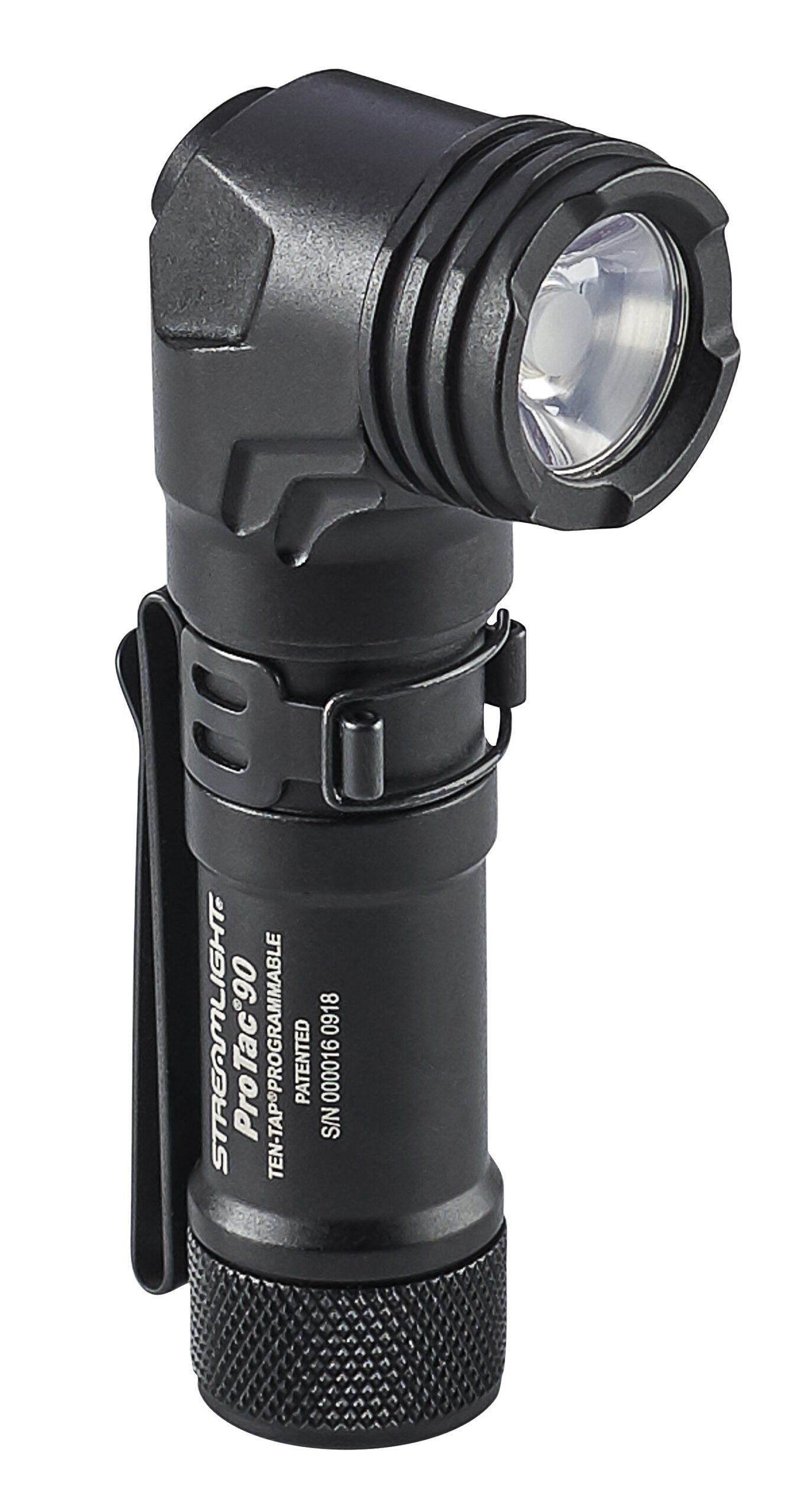 The ProTac 90 is a superb bright, ultra-compact, right angle tactical light featuring the convenience of multi fuel technology.