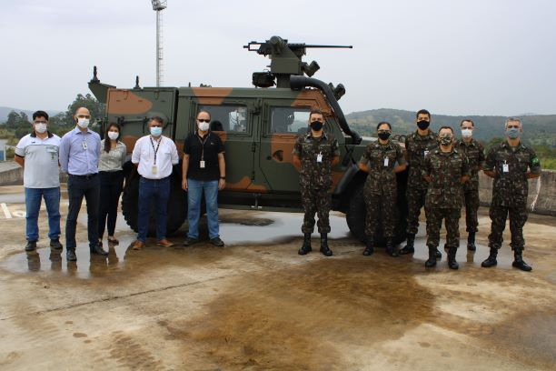 Iveco Delivers First LMV-BR to Brazilian Army