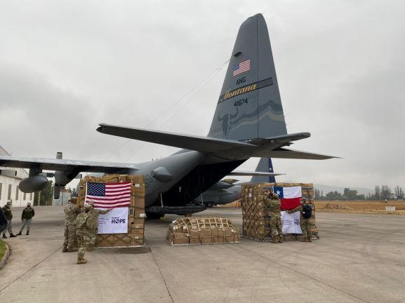 US Donates a C-130H to Chile