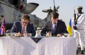 UK and Ukraine Sign Naval Agreement