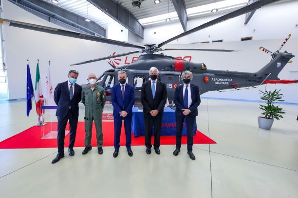 Leonardo Delivers HH-139B Helicopter to Italian Air Force