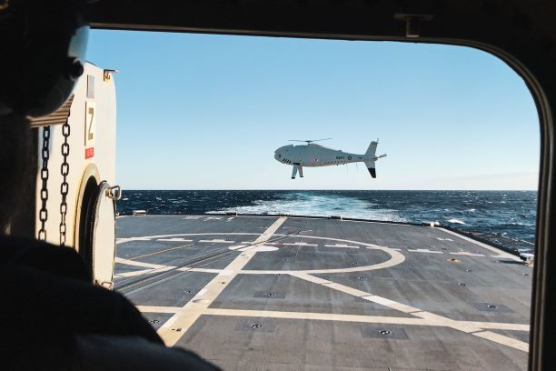 RAN Extends Schiebel CAMCOPTER Contract