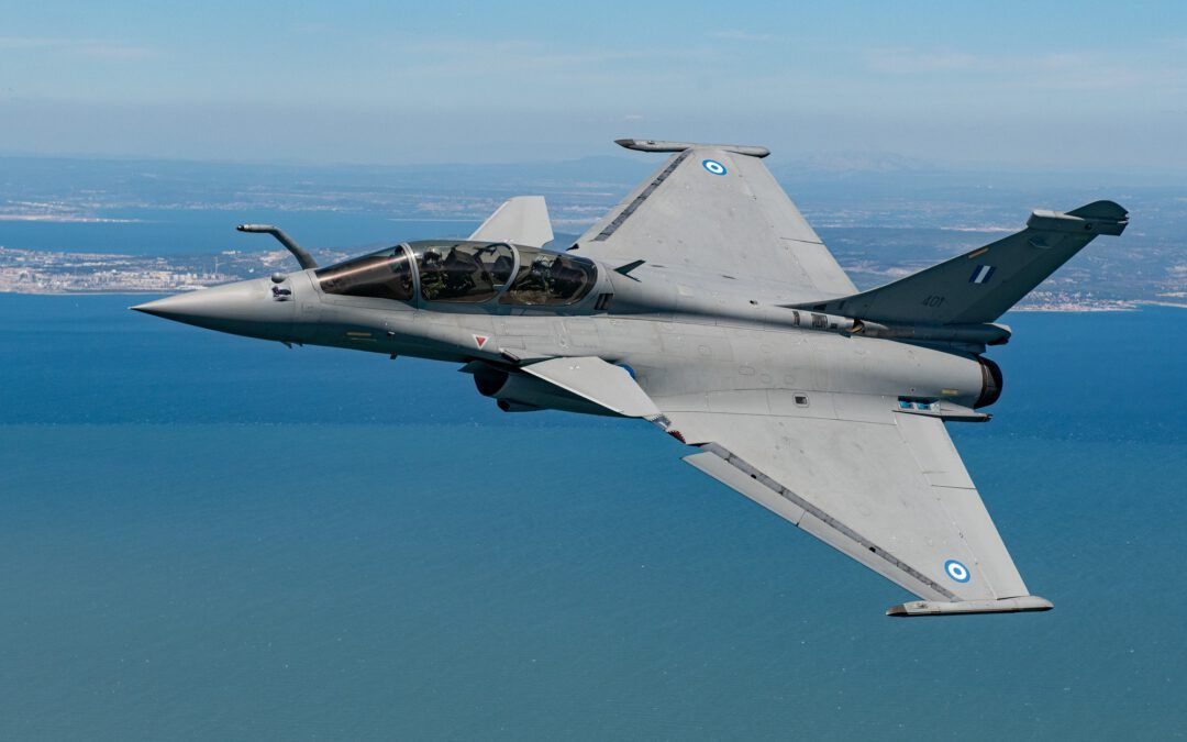 Dassault Delivers First RAFALE to Hellenic Air Force