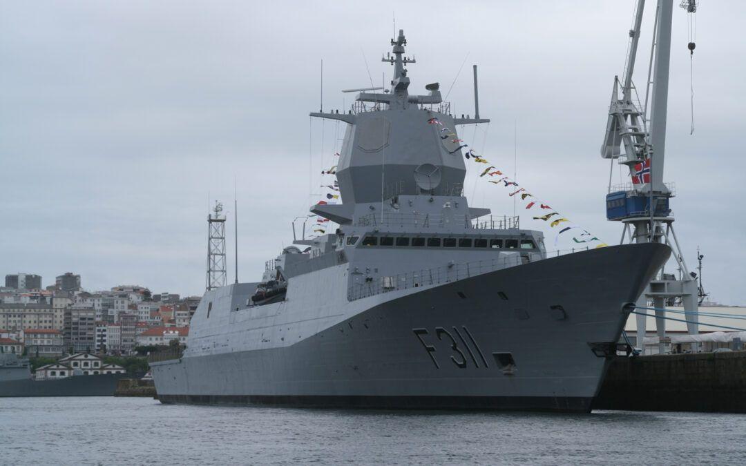 El Ministerio de Defensa de Noruega felicita a Navantia por el éxito de la tropicalización de la fragata F-311