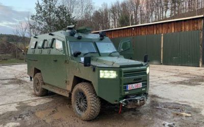 New 4×4 Armoured Vehicles for Peruvian Army