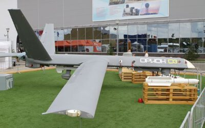 Russia Tests ORION UCAV Weapons Delivery