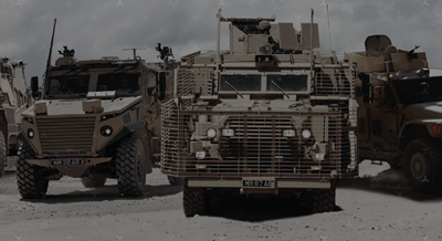 DSEI 2021: NP Aerospace Contracted for UK MoD Vehicle Support