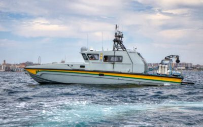 DSEI 2021: CONTROP Delivers iSea25HD to a European Coast Guard