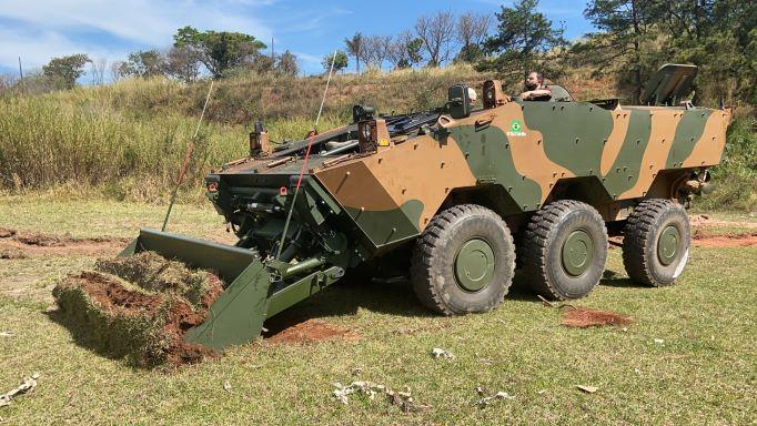 El ejército brasileño prueba el GUARANÍ en la variante de ingenieros