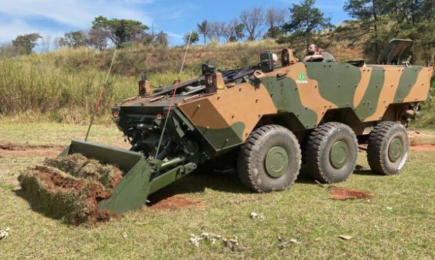 Brazilian Army Tests GUARANI Engineer Variant