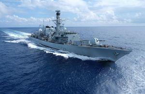 Royal Navy Enforces UN Sanctions Against North Korea