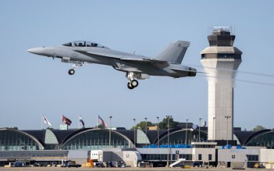 Boeing Delivers First F/A-18 Super HORNET Block III to USN