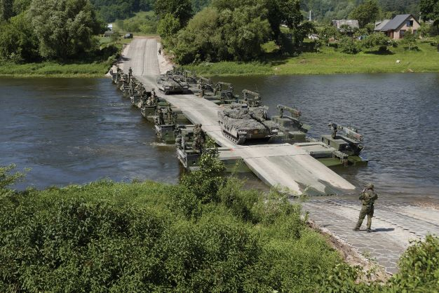 Korea Selects GDELS and Hanwha for Amphibious Bridging Vehicles