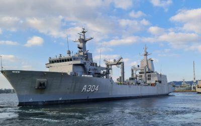 Australia firma la aceptacion del segundo AOR construido por Navantia