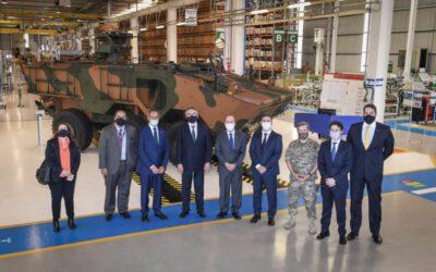 El Jefe del Estado Mayor del Ejército argentino visita Iveco Defence Vehicles en Brasil