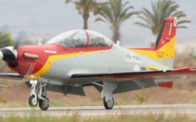 La Fuerza Aérea española recibe su primer PC-21