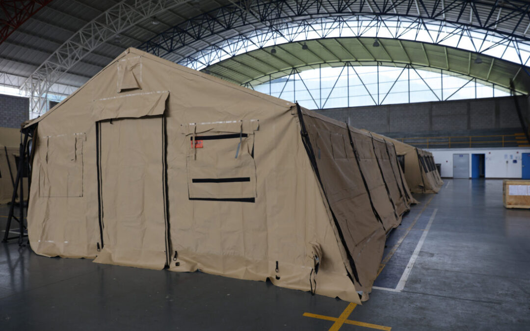 US Donates Field Hospital to Belize