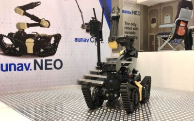 Milipol 2021: aunav.NEO Robot's European Debut