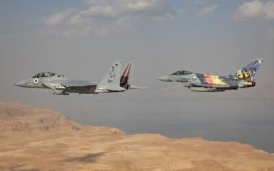 Blue Flag Air Exercise Under Way in Israel